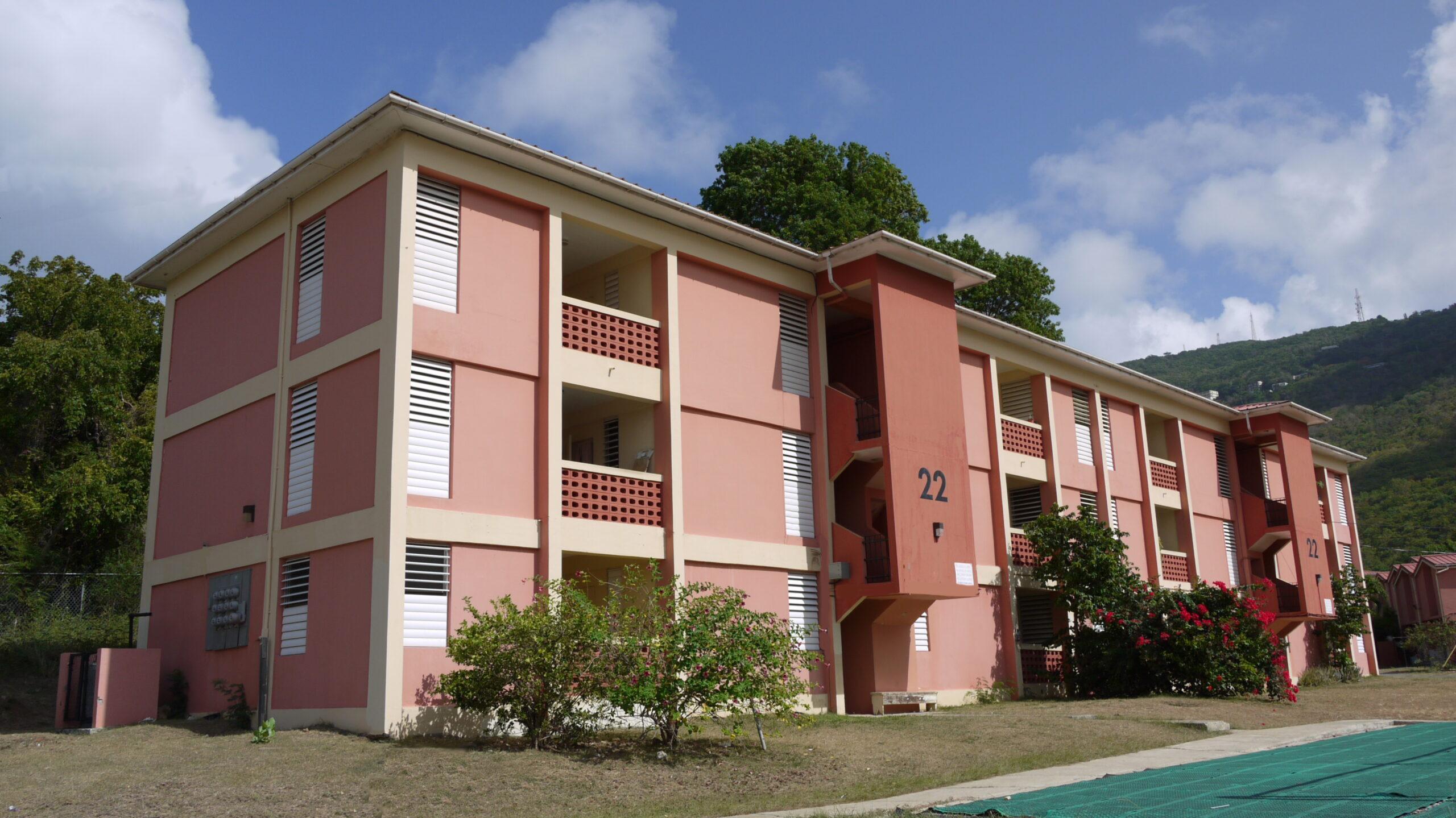 Kirwan Terrace Housing Community Painting